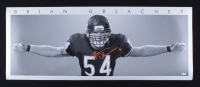 Brian Urlacher Signed Bears 16x40 Poster (Beckett COA) (See Description) at PristineAuction.com