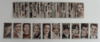"1934 Ardath ""Famous Film Stars"" Complete Set of (50) Cards with Cary Grant #41, Clark Gable #26, Anna May Wong #43, Gary Cooper #1, James Cagney #21 at PristineAuction.com"