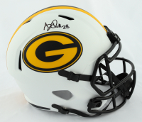 A. J. Dillon Signed Packers Lunar Eclipse Alternate Speed Full Size Helmet (Beckett Hologram) at PristineAuction.com