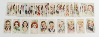 "1935 Player's ""Film Stars"" Complete Set of (50) Tobacco Cards with Jackie Cooper, Marion Davies, Cary Grant, Mae West, Ginger Rogers, at PristineAuction.com"