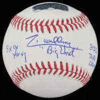 Randy Johnson Signed OML Baseball with Multiple Inscriptions (Radtke COA) at PristineAuction.com