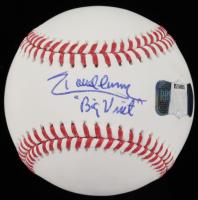 "Randy Johnson Signed OML Baseball Inscribed ""Big Unit"" (Radtke COA) at PristineAuction.com"