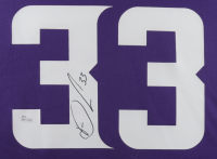 Dalvin Cook Signed 34.5x42.5 Custom Framed Jersey Display (JSA COA) (See Description) at PristineAuction.com