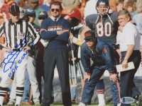 """Mike Ditka Signed Bears 8x10 Photo Inscribed """"Da Coach"""" (Beckett COA) at PristineAuction.com"""