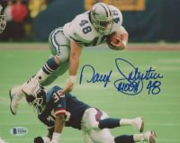 "Daryl ""Moose"" Johnston Signed Cowboys 8x10 Photo (Beckett COA) at PristineAuction.com"