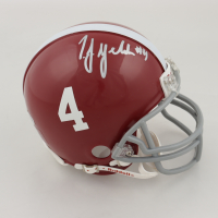 T.J. Yeldon Signed Alabama Crimson Tide Mini-Helmet (Beckett COA) at PristineAuction.com