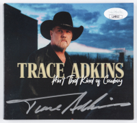 "Trace Adkins Signed ""Ain't That Kind of Cowboy"" CD Cover (JSA COA) (See Description) at PristineAuction.com"