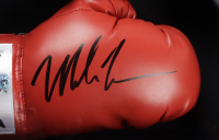 Mike Tyson Signed 19.5x19.5x5 Custom Framed Shadowbox Display (JSA COA & Fiterman Sports Hologram) (See Description) at PristineAuction.com