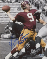 "Sonny Jurgensen Signed Washington 8x10 Photo Inscribed ""HOF 83"" (Beckett COA) at PristineAuction.com"