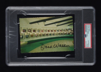 Doak Walker Signed Vintage Hall Of Fame Postcard (PSA Encapsulated) at PristineAuction.com