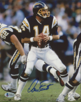 Dan Fouts Signed Chargers 8x10 Photo (Beckett COA) (See Description) at PristineAuction.com