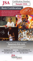Chris Bosh Signed 35x42 Custom Framed Jersey Display (JSA COA) at PristineAuction.com