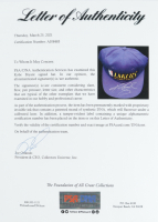 Kobe Bryant Signed Lakers Adjustable Hat with Display Case (PSA LOA) at PristineAuction.com