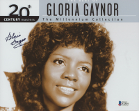 """Gloria Gaynor Signed """"20th Century Masters: The Millennium Collection: Best Of Gloria Gaynor"""" 8x10 Photo (Beckett COA) at PristineAuction.com"""