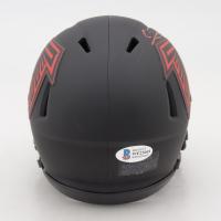 Calvin Ridley Signed Falcons Eclipse Alternate Speed Mini-Helmet (Beckett COA) at PristineAuction.com