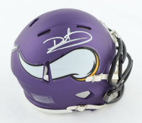 Daunte Culpepper Signed Vikings Speed Mini-Helmet (JSA COA) at PristineAuction.com