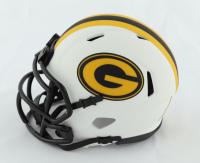A. J. Dillon Signed Packers Lunar Eclipse Alternate Speed Mini Helmet (Beckett Hologram) at PristineAuction.com