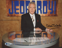 "Alex Trebek Signed ""Jeopardy!"" 8x10 Photo (Beckett COA) at PristineAuction.com"