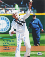 Burke Waldron Signed 8x10 Photo with Multiple Inscriptions (Beckett COA) at PristineAuction.com