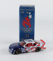 Dale Earnhardt #3 100th Olympics Atlanta 1996 Monte Carlo 1:24 Scale Die Cast Car at PristineAuction.com
