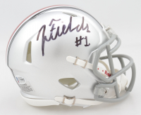 Justin Fields Signed Ohio State Buckeyes Speed Mini Helmet (Beckett COA) (See Description) at PristineAuction.com
