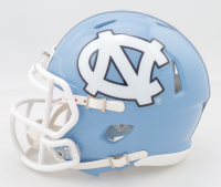 Sam Howell Signed North Carolina Tar Heels Speed Mini Helmet (JSA COA) (See Description) at PristineAuction.com