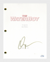 "Adam Sandler Signed ""The Waterboy"" Movie Script (AutographCOA COA) at PristineAuction.com"