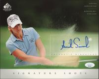 Annika Sorenstam 2004 SP Signature Shots 8x10 #AS (JSA COA) at PristineAuction.com