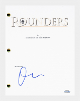 "Matt Damon Signed ""Rounders"" Movie Script (AutographCOA COA) at PristineAuction.com"