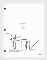 "Dustin Hoffman Signed ""The Graduate"" Movie Script (AutographCOA COA) at PristineAuction.com"