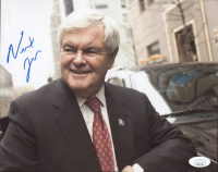 Newt Gingrich Signed 8x10 Photo (JSA COA) at PristineAuction.com