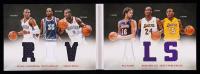 2012-13 Panini Preferred Rivals Memorabilia #3 Kevin Durant / Russell Westbrook / Serge Ibaka / Pau Gasol / Kobe Bryant / Metta World Peace #124/199 at PristineAuction.com