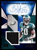 Brian Dawkins 2020 Panini XR Autograph Swatches Blue #22 #05/15 at PristineAuction.com