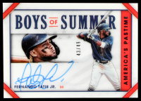 Fernando Tatis Jr. 2020 Panini America's Pastime Boys of Summer #8 #43/49 at PristineAuction.com