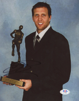 Dirk Nowitzki Signed 8x10 Photo (PSA Hologram) at PristineAuction.com