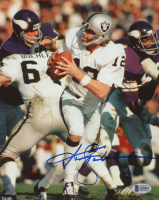 Ken Stabler Signed Raiders 8x10 Photo (Beckett COA) at PristineAuction.com