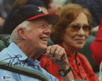 Jimmy Carter & Rosalynn Carter Signed 8x10 Photo (Beckett LOA) at PristineAuction.com