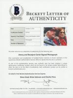 Jimmy Carter & Rosalynn Carter Signed 8x10 Photo (Beckett LOA) at PristineAuction.com