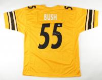 Devin Bush Jr. Signed Jersey (JSA COA) at PristineAuction.com