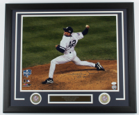 "Mariano Rivera Signed Yankees 22x26 Custom Framed Photo Display Inscribed ""HOF 2019"" with (2) Coins (JSA COA) at PristineAuction.com"