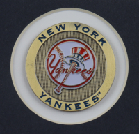 """Mariano Rivera Signed Yankees 22x26 Custom Framed Photo Display Inscribed """"HOF 2019"""" with (2) Coins (JSA COA) at PristineAuction.com"""