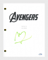 "Mark Ruffalo Signed ""The Avengers"" Movie Script (AutographCOA COA) at PristineAuction.com"