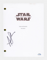 "Andy Serkis Signed ""Star Wars: The Last Jedi"" Movie Script (AutographCOA COA) at PristineAuction.com"