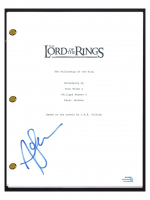 "Andy Serkis Signed ""The Lord of the Rings: The Fellowship of the Ring"" Movie Script (AutographCOA COA) at PristineAuction.com"