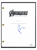 "Robert Downey Jr. Signed ""Avengers: Endgame"" Movie Script (AutographCOA COA) at PristineAuction.com"