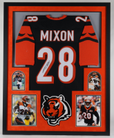 Joe Mixon Signed 34x42 Custom Framed Jersey (JSA COA) (See Description) at PristineAuction.com