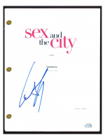 "Cynthia Nixon Signed ""Sex & the City"" Full Pilot Episode Script (AutographCOA COA) at PristineAuction.com"
