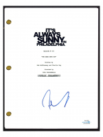 "Rob McElhenney Signed ""It's Always Sunny In Philadelphia"" Pilot Episode Script (AutographCOA COA) at PristineAuction.com"