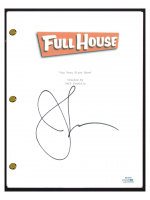 "John Stamos Signed ""Full House"" Pilot Episode Script (AutographCOA COA) at PristineAuction.com"