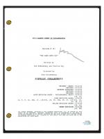 "Kaitlin Olson Signed ""It's Always Sunny In Philadelphia"" Pilot Episode Script (AutographCOA COA) at PristineAuction.com"